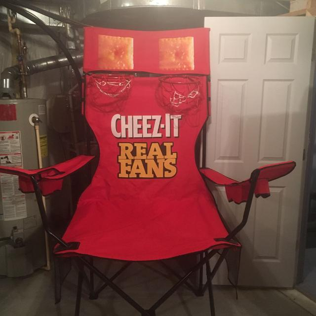 find more cheez it basketball hoop chair for sale at up to 90 off