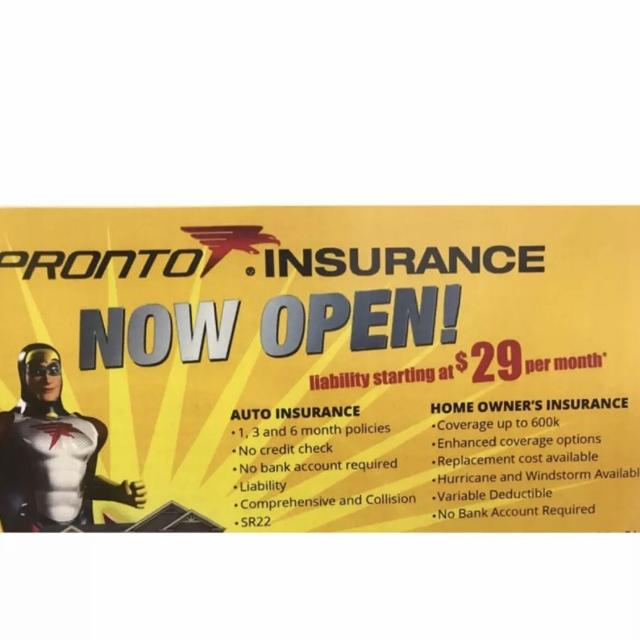 (Auto) Liability Insurance starting at $29 per month
