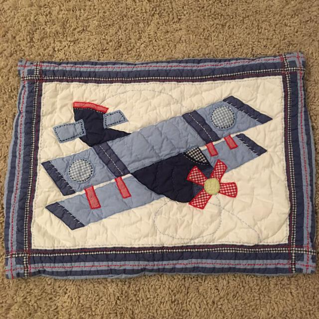 Best Pottery Barn Kids Airplane Standard Sham For Sale In