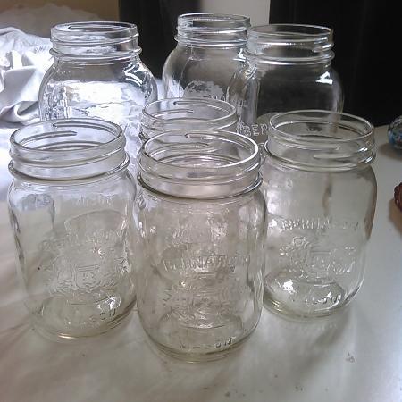 Mason Jars 3 Quarts & 4 Pints for sale  Canada