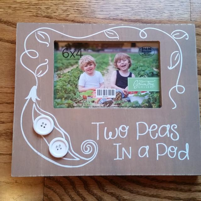 Find More Two Peas In A Pod 4x6 Picture Frame From Hobby Lobby New