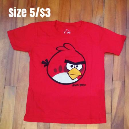 Angry bird t-shirt for sale  Canada