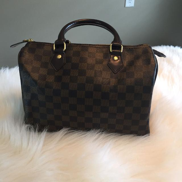 804f4154908 Find more Replica Louis Vuitton Speedy 30 Damier for sale at up to ...