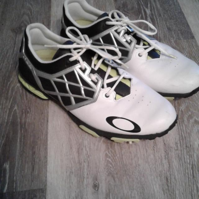 Mens Oakley Golf Shoes Size 10 5
