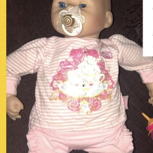 Annabelle doll cry with tears with dummy bottle