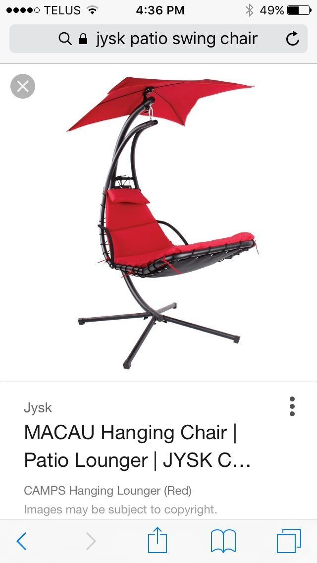 Find More Jysk Hanging Chair For Sale At Up To 90 Off