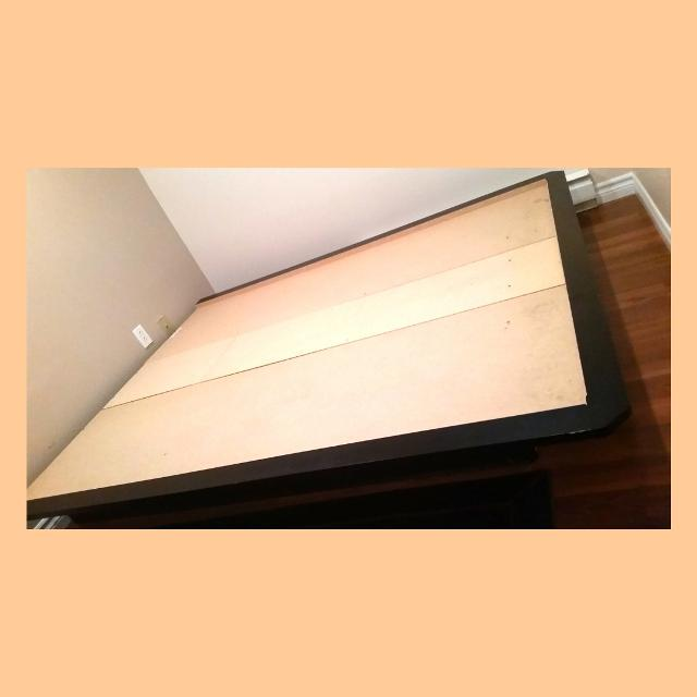 Queen size bed baseboards and frame