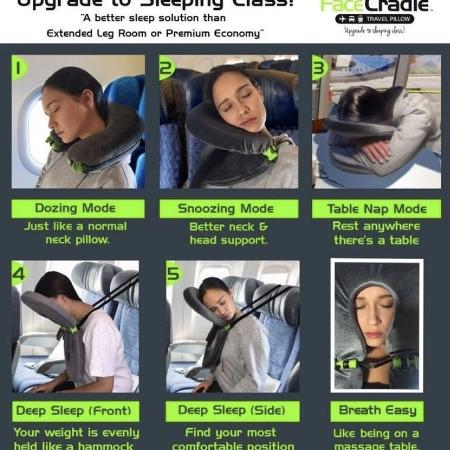 Face Cradle travel pillow worlds #1... for sale  Canada