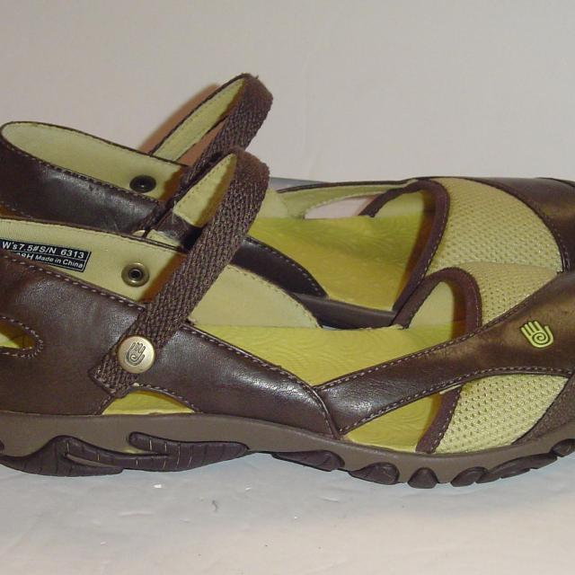9a84ab185fd Find more Teva Westwater Sport Mary Jane Green   Brown Sandal Shoe ...