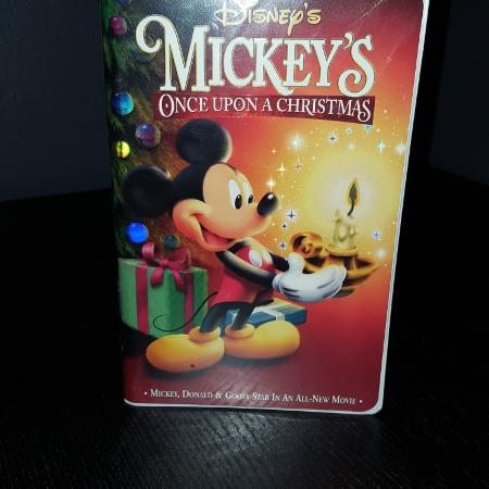mickeys once upon a christmas vhs - Mickeys Once Upon A Christmas Vhs