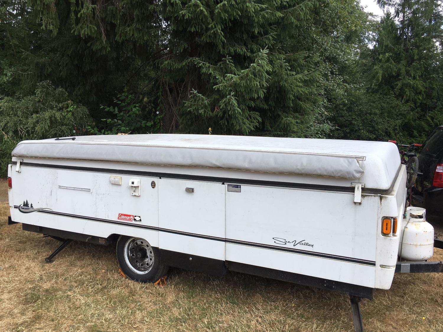 Find More 2002 Coleman Sun Valley Tent Trailer For Sale At