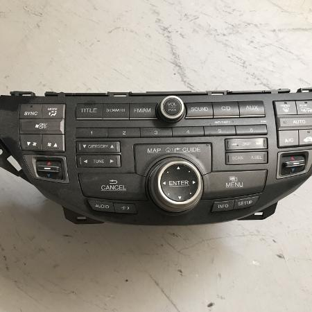 08-12 Honda Accord EXL Radio 6CD DVD... for sale  Canada