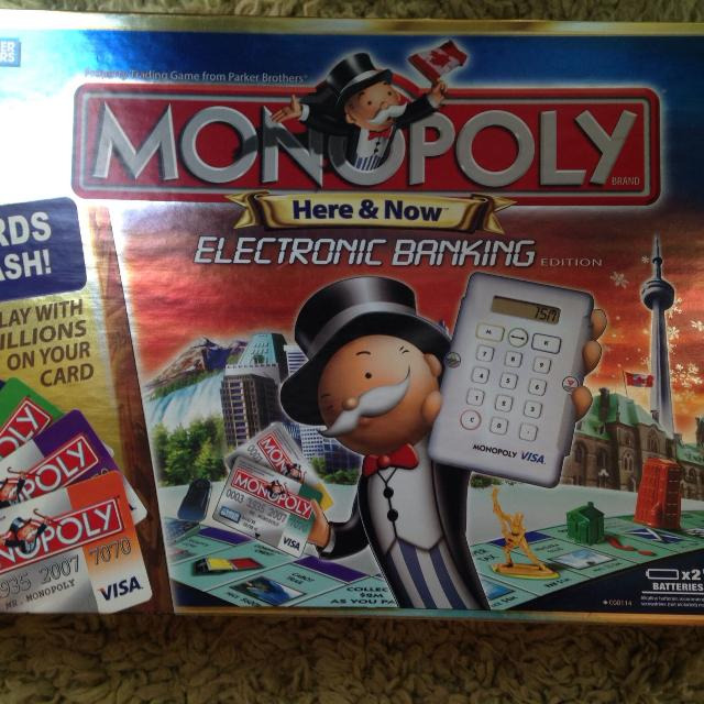 Best Monopoly Electronic Banking Canadian Edition For Sale In