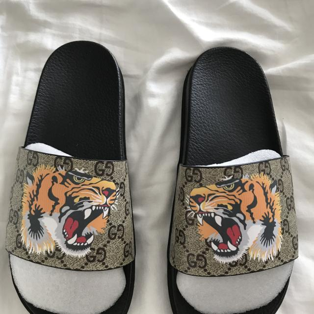 29c8fab3349 Best Gucci Tiger Slides for sale in Vancouver