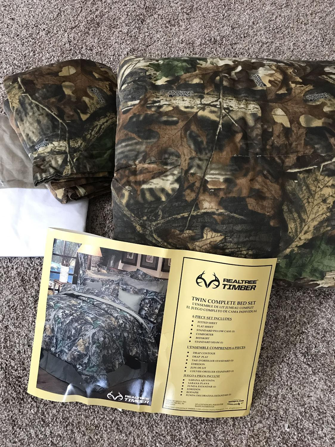 Find More Camo Twin Size Bedding For Sale At Up To 90 Off