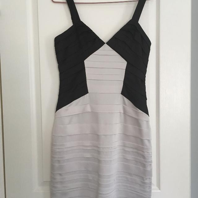 Best Black And White Bcbg Dress For Sale In Vaughan Ontario For 2019