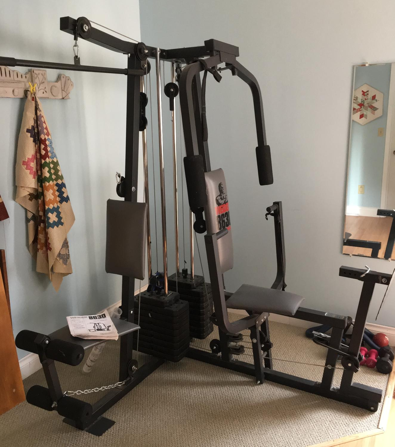 Find more price reduction weider home gym training