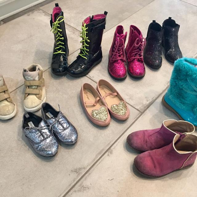 c7f116cdff Find more Girls Size 12 (2 Are 13) Shoe Lot. Tucker & Tate ...
