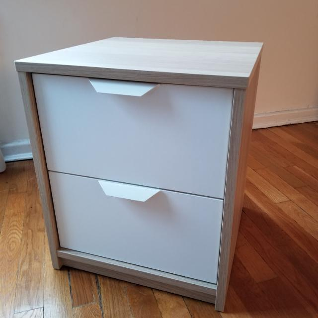 Best Nightstand With 2 Drawers Askvoll Ikea For In Queens New York 2019