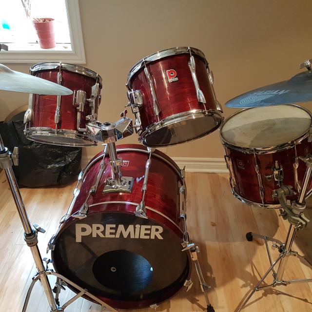 best premier drum kit for sale in brockton village ontario for 2019. Black Bedroom Furniture Sets. Home Design Ideas