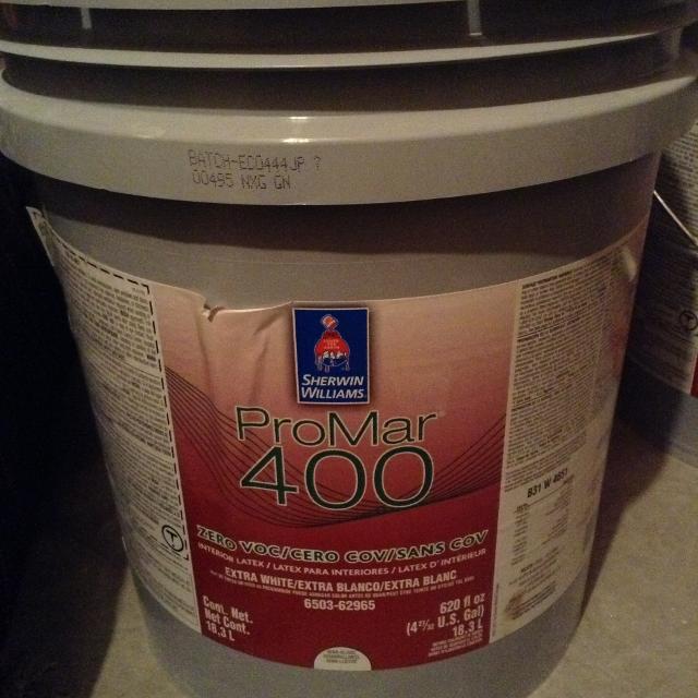 Sherwin Williams 5 Gallon Paint Brand New