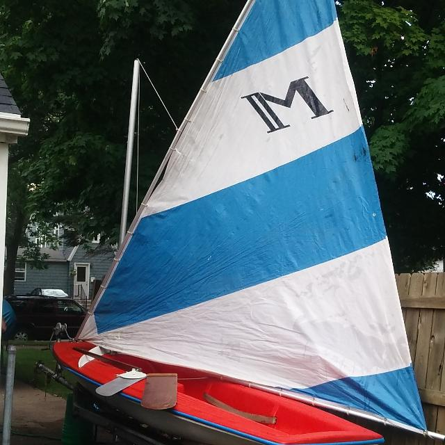 Snark Mach II 14 ft sailboat