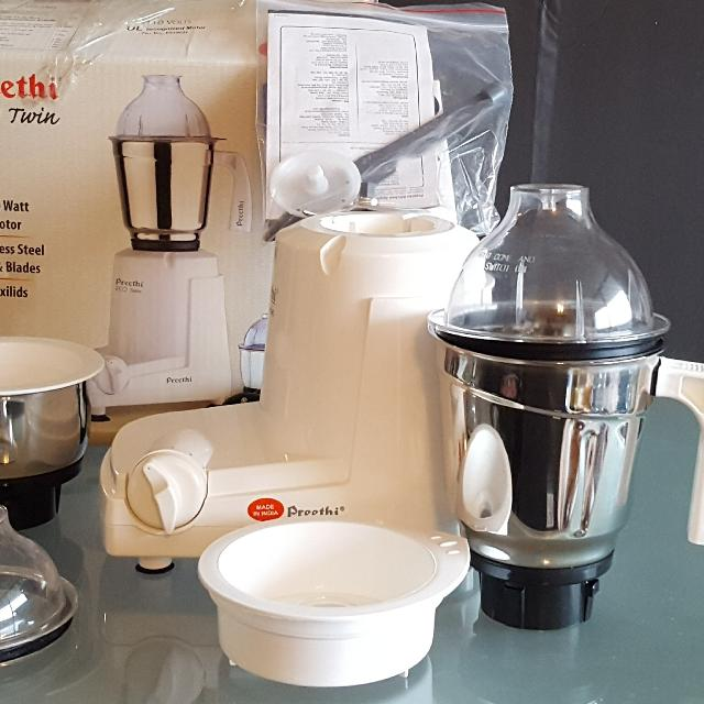 f33a6c63077 Find more Preethi Eco Twin 2 Jar Indian Mixie Mixer Grinder For 110 ...
