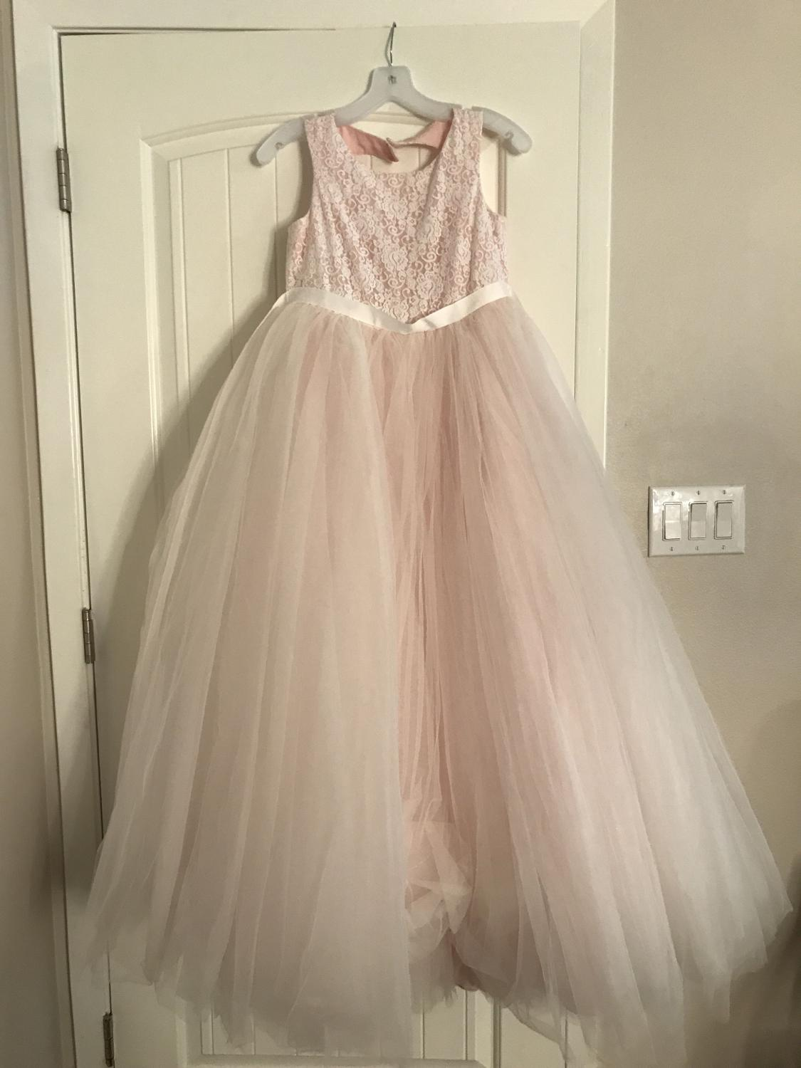 Best Flower Girl Dress From David's Bridal Size 18 for sale in ...