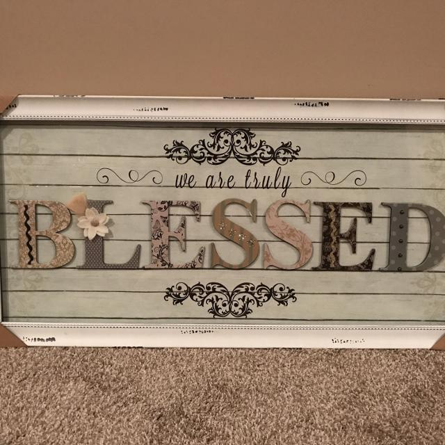We Are Truly Blessed Wall Decor