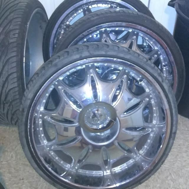 Best 24 Inch Rims For Sale In Champaign Illinois For 2019
