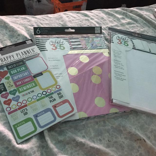 Happy planner accessories
