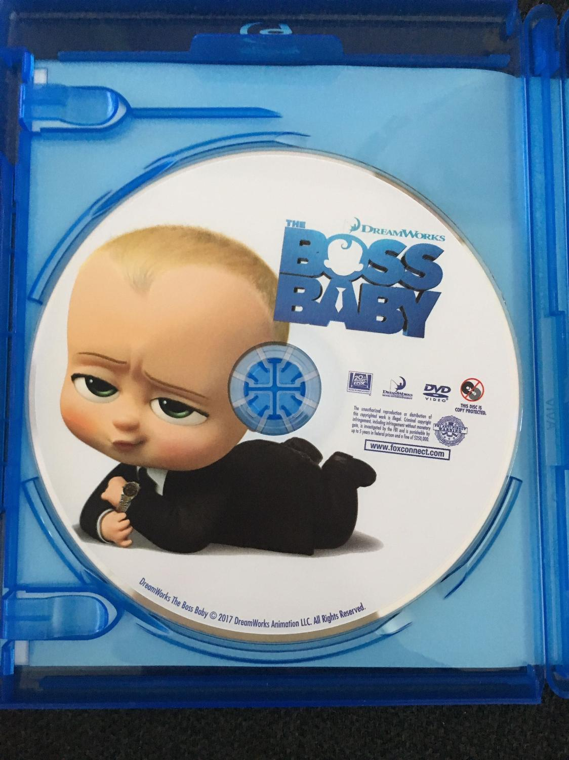 Find More Boss Baby Dvd For Sale At Up To 90 Off