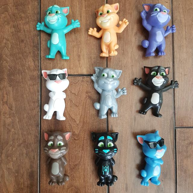 Find More Set Of 9 Talking Tom Mcdonald S Happy Meal Toys For Sale