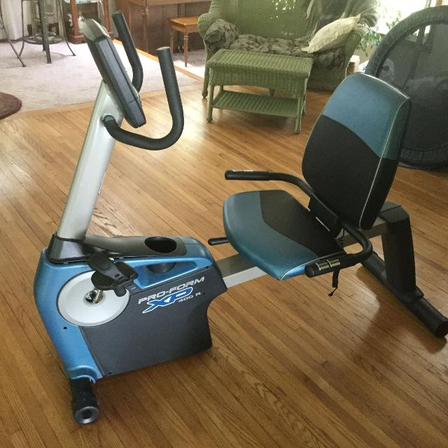 Find More Proform Xp 400r Recumbent Exercise Bike With