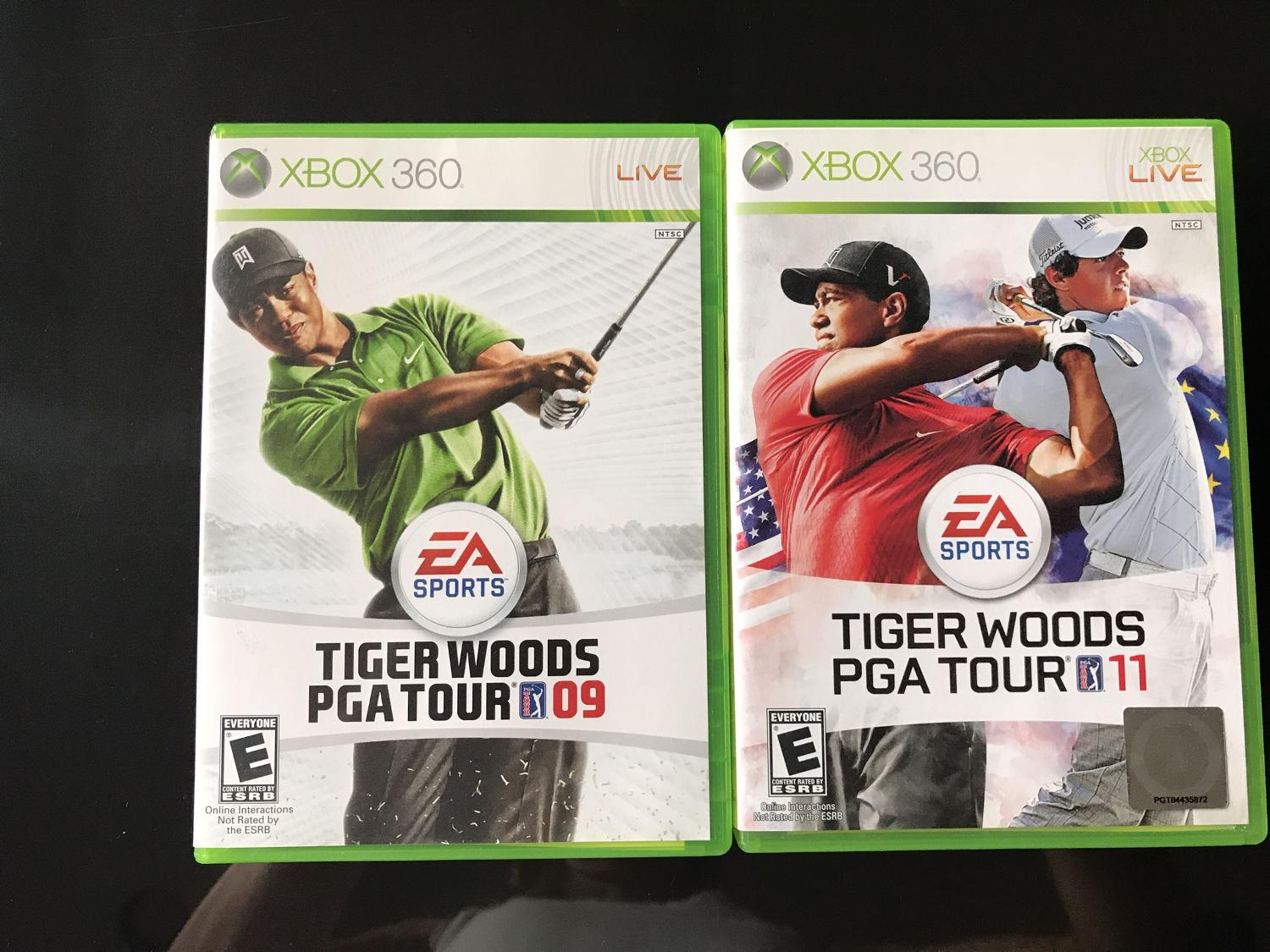 Xbox 360 Tiger Woods Golf Games