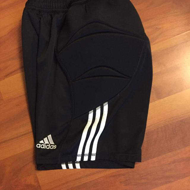 63f126ffa Find more Adidas Tierro Goalkeeper Boys Shorts - Size Yl for sale at ...