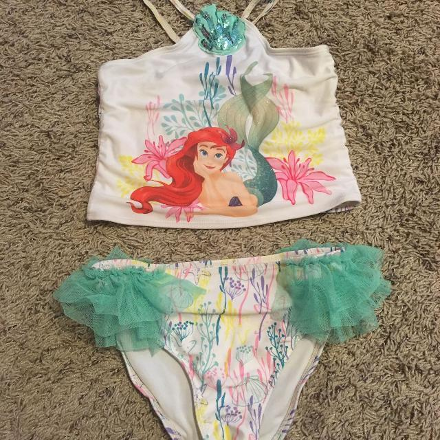 09e327ec34 Find more Disney Store Princess Ariel Little Mermaid Girls Swimsuit ...