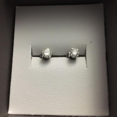 NEW Stud Earrings with 1/2 Carat TW... for sale  Canada