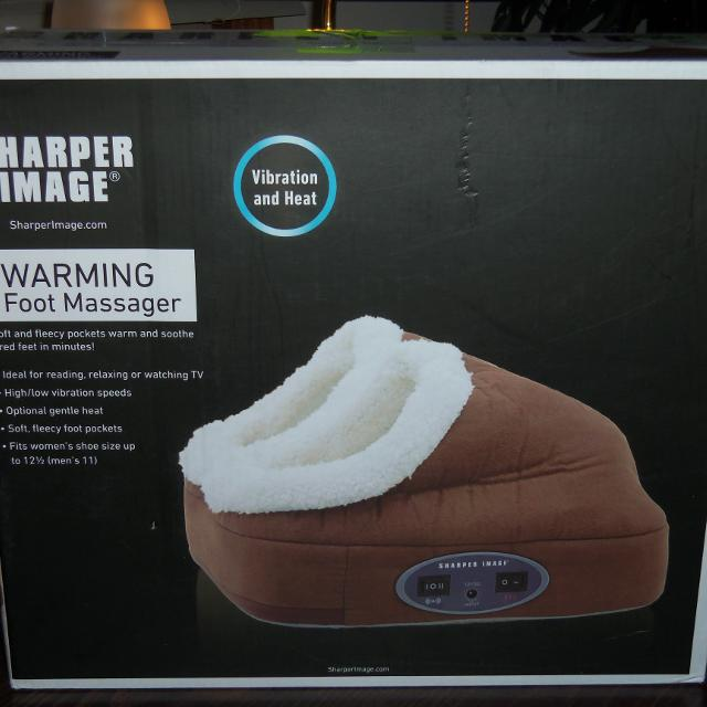 Find More Sharper Image Warming Foot Massager For Sale At Up To 90 Off