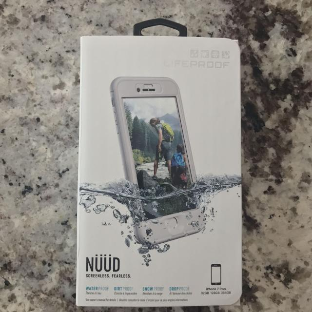 quality design 94825 7ca59 PRICE ADJUSTMENT** Lifeproof NUUD iPhone 7 Plus - Snowcapped White BRAND  NEW!!