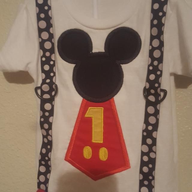 Best Mickey Mouse 1st Birthday Shirt For Sale In Friendswood Texas 2019