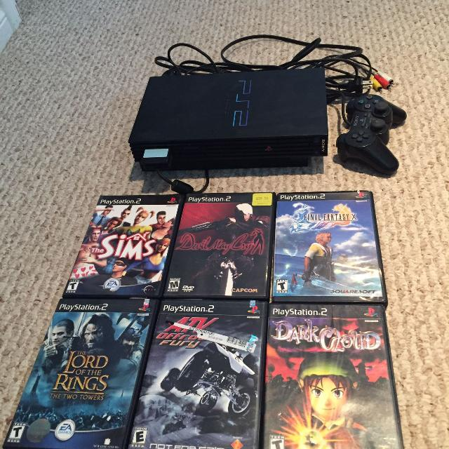 *price drop* PlayStation 2 with games