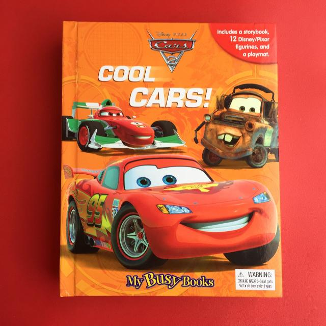 Best My Busy Books Disney Pixar Cars Cool Cars Ajax For - Cars 2 cool cars book