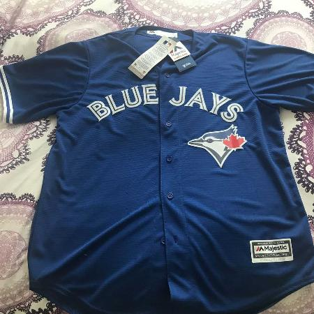 cdd6513f17f Brand new Toronto Blue Jays mens large cool base jersey