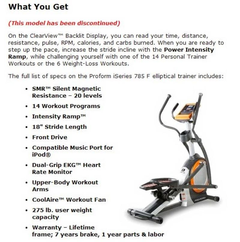 Need To Sell Asap! Used Elliptical