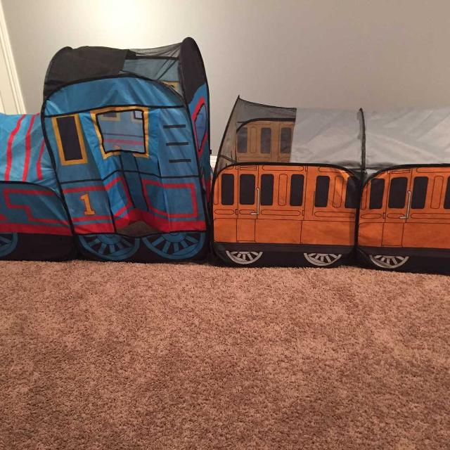 timeless design ffe36 ae943 Thomas the tank engine pop up tent and Annie and clarabel- originally was  $75 at toys r