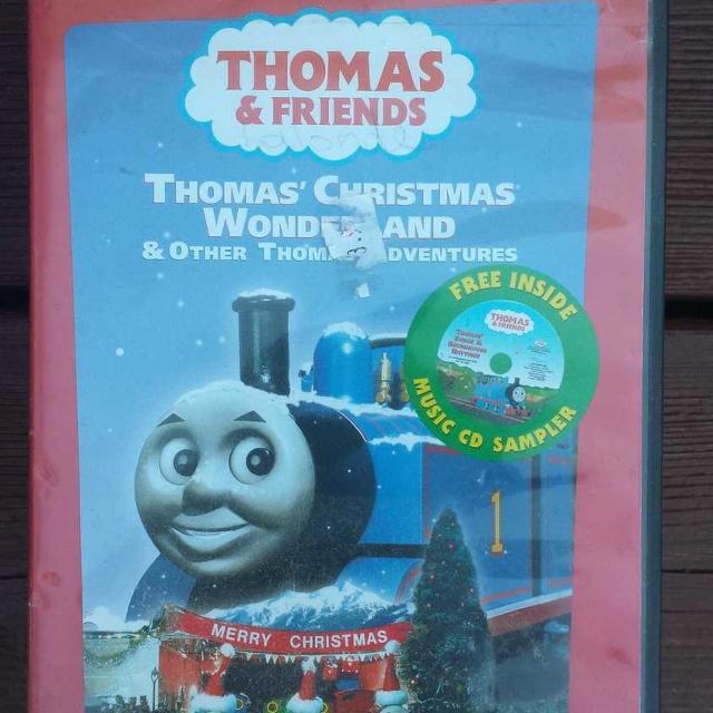 Thomas Christmas Wonderland Vhs.Dvd Thomas And Friends Thomas Christmas Wonderland