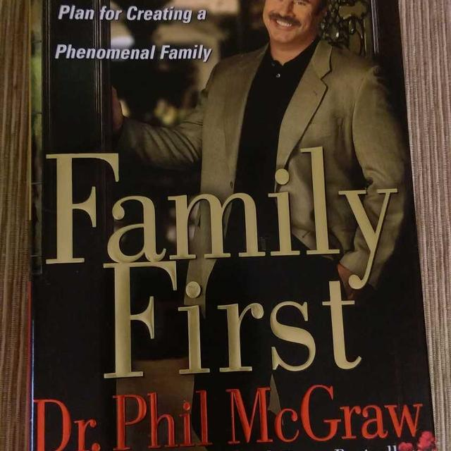 Family First Hardback Book by Dr  Phil McGraw