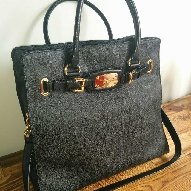 f5df1977f7b1e4 Best Michael Kors Hamilton Saffiano Leather Large Satchel for sale in  Yorkville, Ontario for 2019