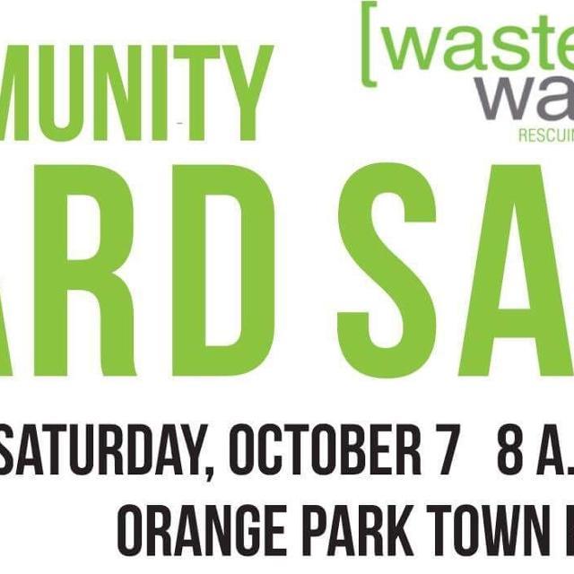Community yard sale in Orange Park, Florida for 2019
